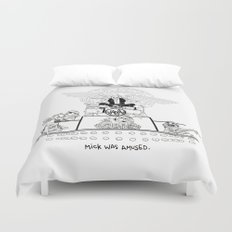 Mick was NOT amused (#16). Duvet Cover