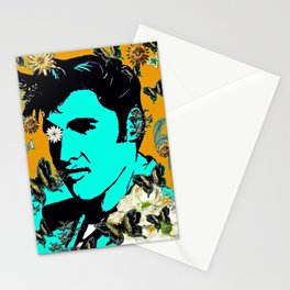 Flowers For The King of Rock and Roll Stationery Cards