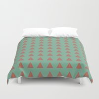 geo Duvet Covers featuring Geo by wendygray