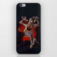 monster iPhone & iPod Skins featuring Monster! by Billy Allison
