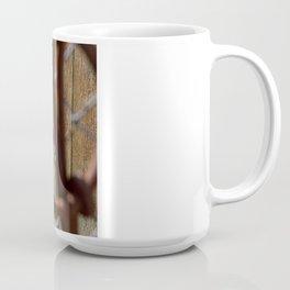 Iron and Purple Flowers Coffee Mug