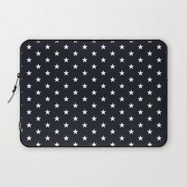 Superstars White on Black Medium Laptop Sleeve