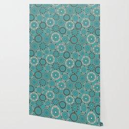 bike wheels turquoise Wallpaper