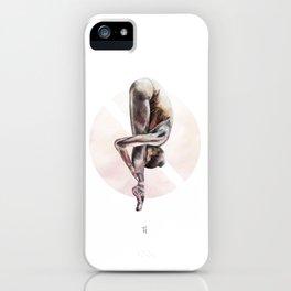Aquarelle Ballerina 03 iPhone Case