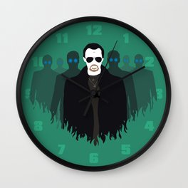 The Bitter End - Variant Wall Clock