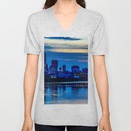 Indianapolis Skyline Unisex V-Neck
