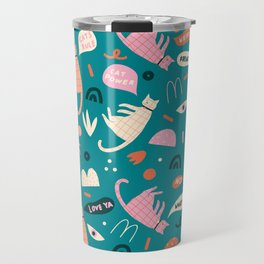 Cats have rights! Travel Mug