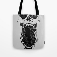 Chaos and Clarity ~ Black Tote Bag