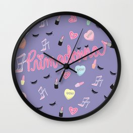 Primadonna Wall Clock