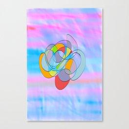 mole cule Canvas Print