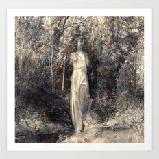 In the arms of Nature Art Print
