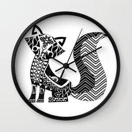 Señor Zorro Wall Clock