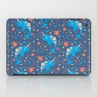 narwhal iPad Cases featuring Narwhal & Babies  by Carly Watts