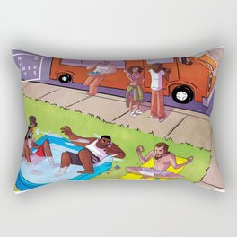 End Of Summer Days Rectangular Pillow