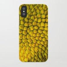 Yellow Jackfruit iPhone X Slim Case