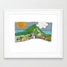 Managua Framed Art Print