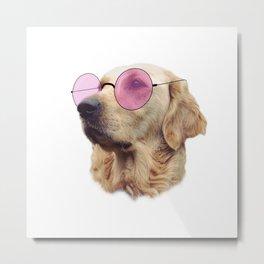 Cool Doggo Metal Print