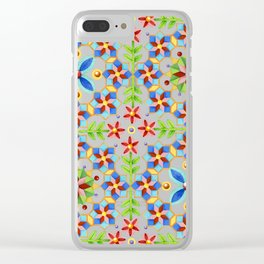 Decorative Gothic Revival Clear iPhone Case