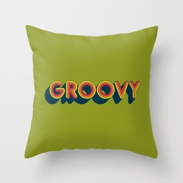 Groovy Throw Pillow