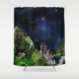Forster-Tephroite-III Shower Curtain