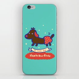 Little baby dog iPhone Skin