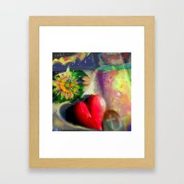 Dream Collage  Framed Art Print