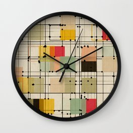embrace uncertainty Wall Clock
