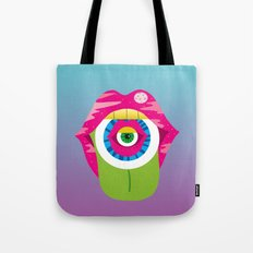 whistleburg - watch your mouth Tote Bag