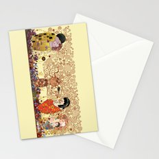 Kokeshis Klimt Stationery Cards