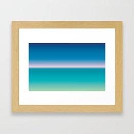 SNST—Balearic (horizontal) Framed Art Print