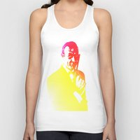 james bond Tank Tops featuring James Bond - Tequila Sunrise by D77 The DigArtisT