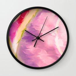 Rainbow Loops Wall Clock