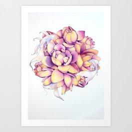 Dancing Harmony Art Print