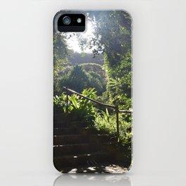 Waimea Valley Oahu Hawaii USA iPhone Case