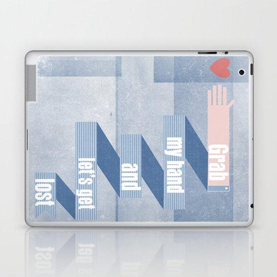 grab my hand... Laptop & iPad Skin