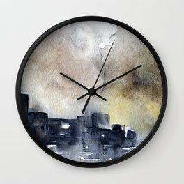 Abstract City Wall Clock
