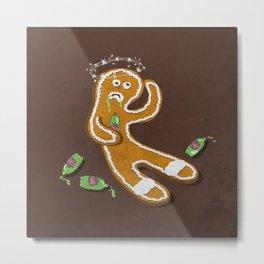 Ginger Ale Metal Print
