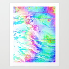 Rainbow Fish Art Print