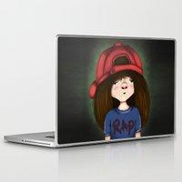 rap Laptop & iPad Skins featuring rap by Pınar Bibin