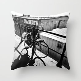 Shadow and Light Throw Pillow