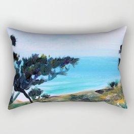 Fine, Fine Torrey Pine Rectangular Pillow