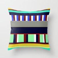 random Throw Pillows featuring Random by Miss L in Art