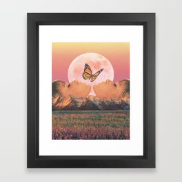 Natural Beauty Framed Art Print
