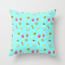 Carnies Pattern Throw Pillow