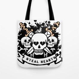 I Steal Hearts Tote Bag