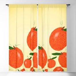 Mandarin Oranges Blackout Curtain