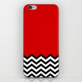 Black Lodge Dreams (Twin Peaks) iPhone Skin