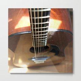 Sunris Guitar Metal Print