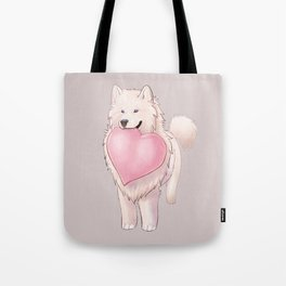 Happy Cloud Tote Bag