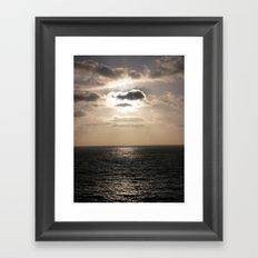 Light Over The Pacific Framed Art Print